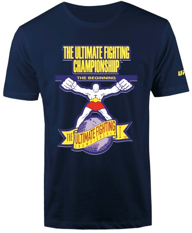 ufc-the-beginning-logo-shirt-navy