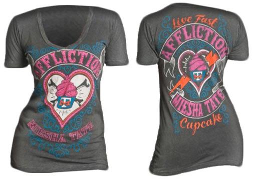 Miesha Tate Shirt Affliction-miesha-tate-ufc