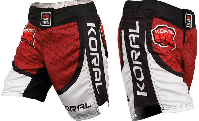 koral-cage-mma-shorts-red