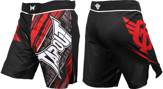 tapout-performance-fight-shorts-red