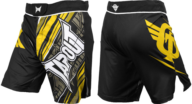 tapout-performance-fight-shorts-yellow