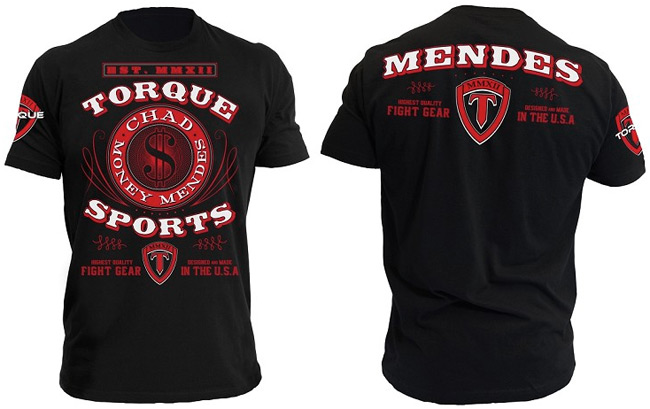 torque-chad-mendes-ufc-on-fox-9-walkout-shirt