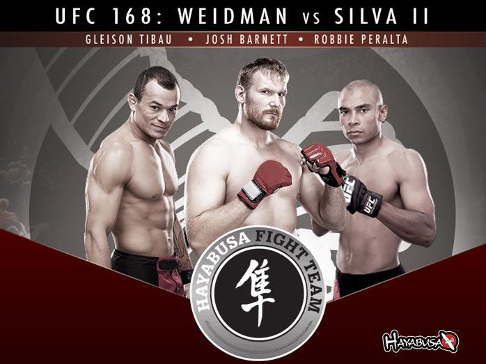 ufc-168-hayabusa-fight-team