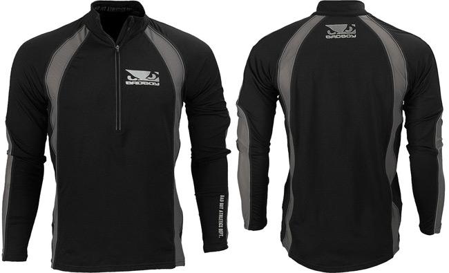 bad-boy-thermal-half-zip-shirt-black