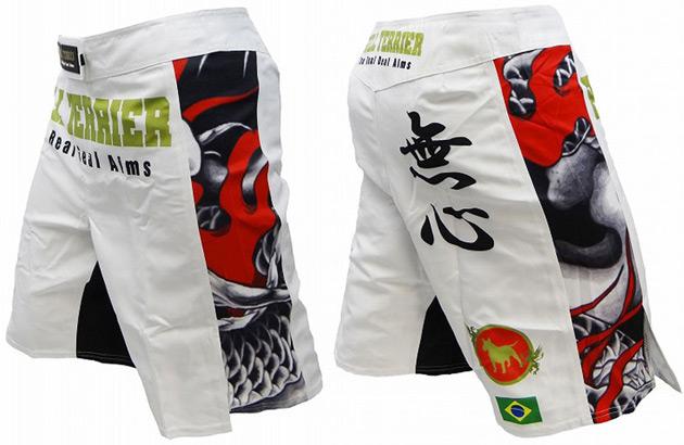 bull-terrier-mushin-2-fight-shorts-white