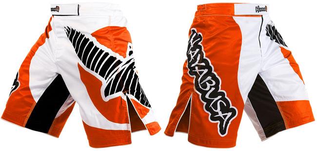 hayabusa-chikara-shorts-orange