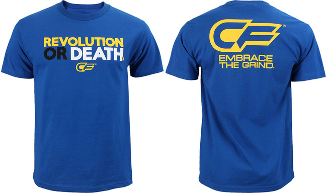cage-fighter-revolution-or-death-shirt