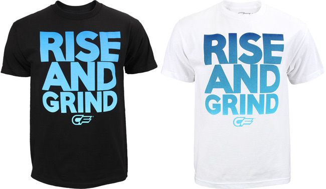 embrace the grind shirt. cage-fighter-rise-and-grind-shirt embrace the grind shirt