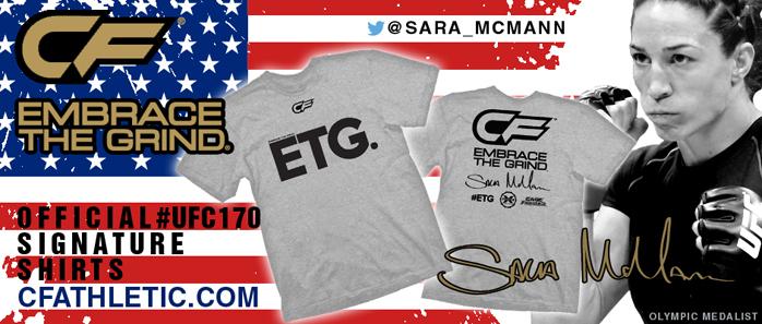 sara-mcmann-ufc-170-walkout-shirt