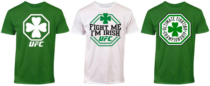 ufc-st-patricks-day-t-shirts