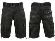 affliction-camo-cargo-shorts