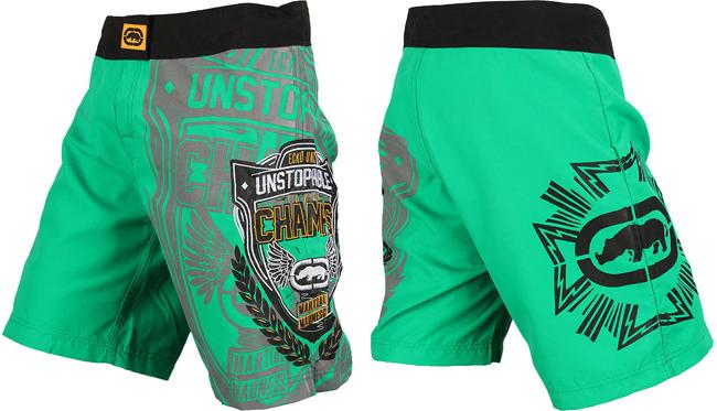 ecko-mma-the-champ-shorts-green
