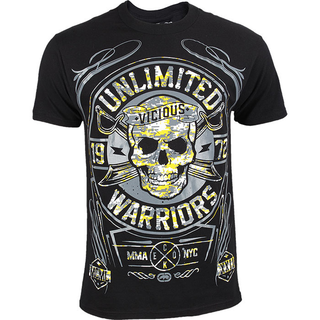 ecko-mma-warriors-ltd-shirt-black