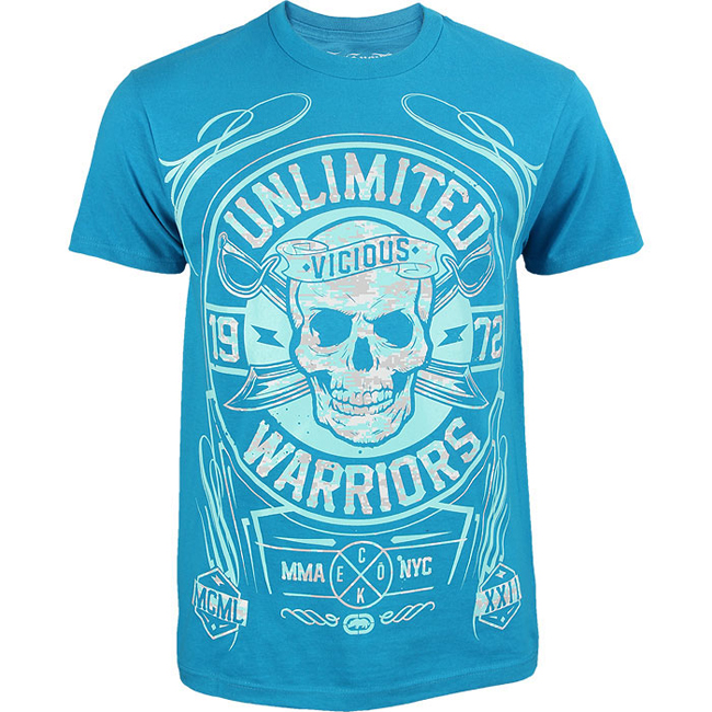 ecko-mma-warriors-ltd-shirt-blue
