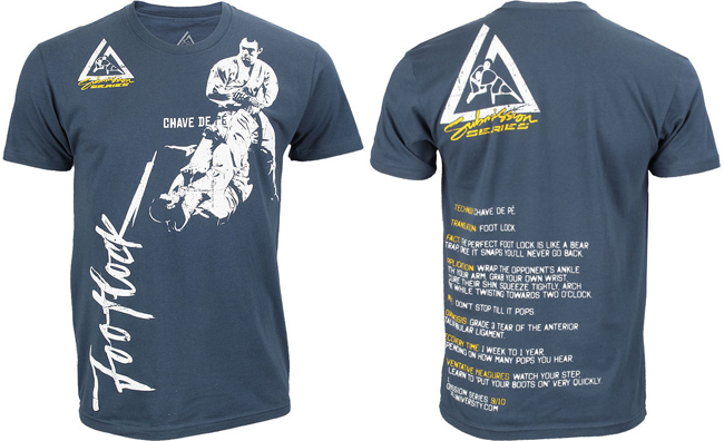 gracie-jiu-jitsu-submission-series-foot-lock-shirt