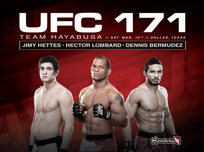 hayabusa-ufc-171-fight-team