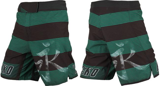 keiko-vibe-fight-shorts-green