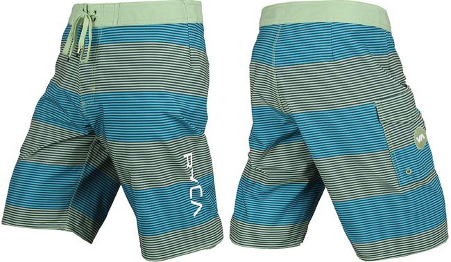 rvca-civil-stripe-shorts-green