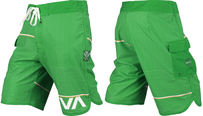 rvca-makua-shorts-green