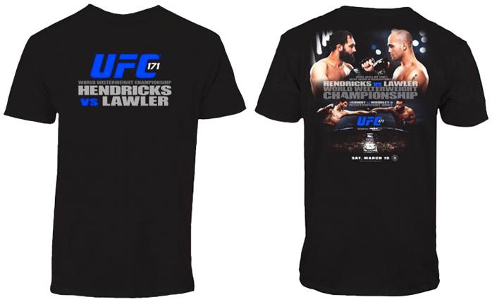 ufc-171-event-shirt