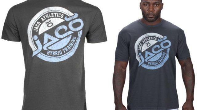 Jaco Mens Tenacity Fierce T-Shirt Charcoal//Red