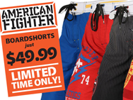 american-fighter-short-sale