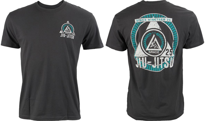 Gracie Jiu Jitsu Chaser T Shirt Fighterxfashion Com