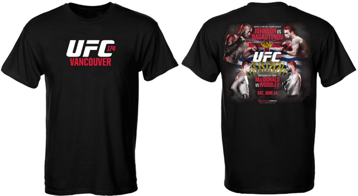 UFC 174 Collectibles S...