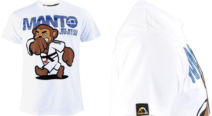 Manto Jiu Jitsu Monkey Shirt Fighterxfashion Com