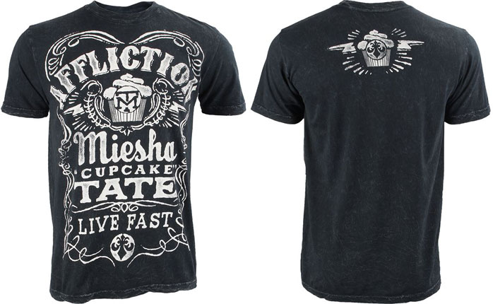Miesha Tate Shirt to Represent Miesha Tate