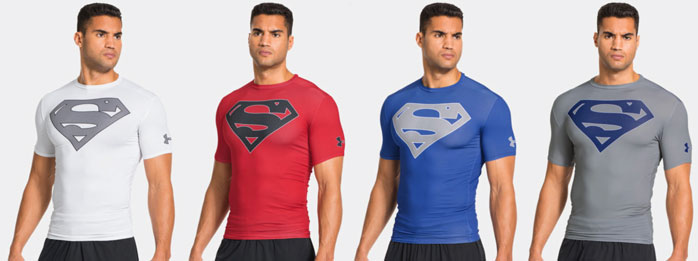 red under armour compression shirt