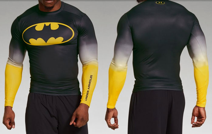 148639c1 Under Armour Alter Ego Batman Long Sleeve Gradient Compression Shirt ...