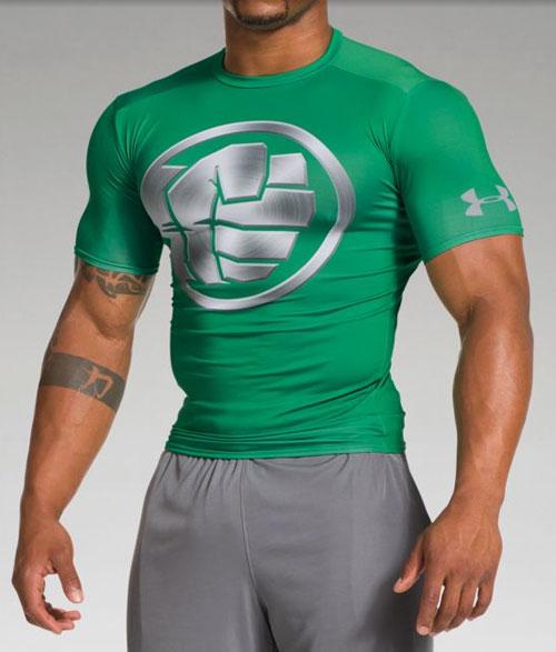 Under Armour Alter Ego Chrome Superhero Compression Shirts