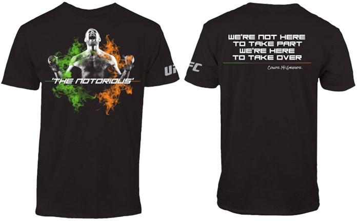 Ufc Conor Mcgregor T Shirt Collection Fighterxfashion Com