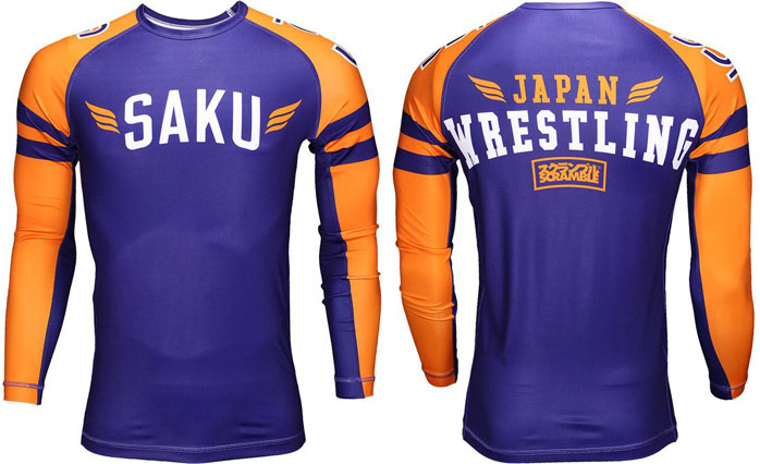 Wrestling rash guards