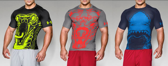 Under armour alter ego 100 beast compression shirts for Beast mode shirt under armour