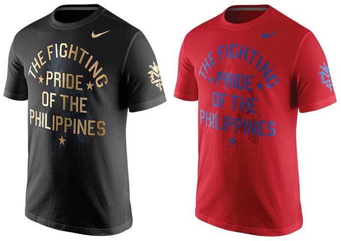 4f5fb7ca0e20 Nike Manny Pacquiao Philippines Pride T-Shirts – FighterXFashion.com