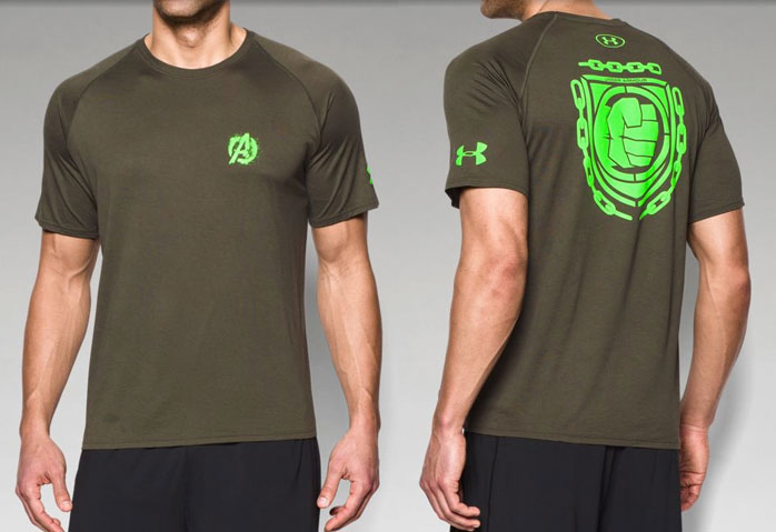Under Armour Alter Ego Avengers Shirts