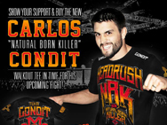 carlos-condit-headrush-2015-walkout-shirt