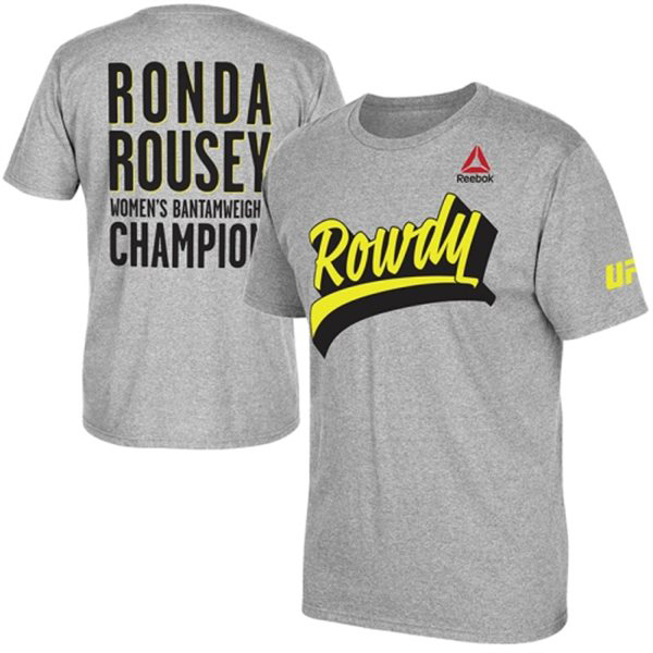 nouvelle reebok - Ronda Rousey UFC 190 Reebok Shirts