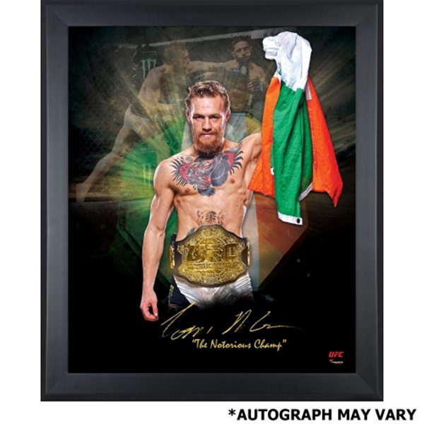 Conor Mcgregor Ufc 189 Autographed Collectibles And