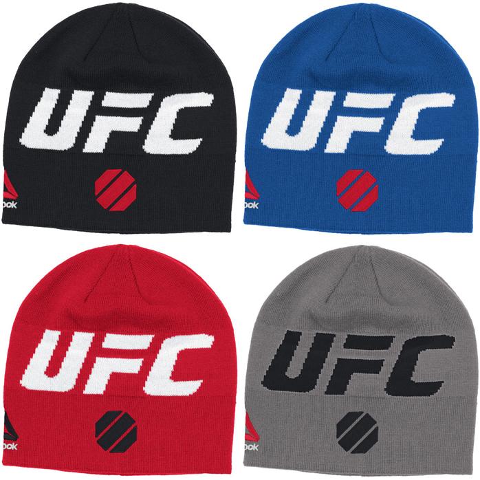 b423c9c2372 UFC Reebok Logo Knit Beanies – FighterXFashion.com