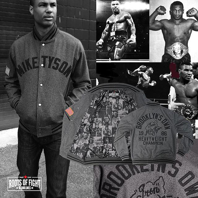 Roots of Fight Mike Tyson Brooklyns Own Shirt