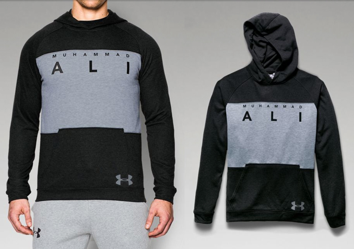 under armour muhammad ali terry hoodie. Black Bedroom Furniture Sets. Home Design Ideas