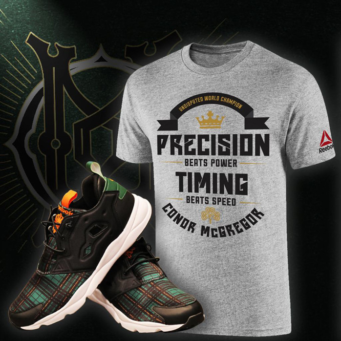 ae593ee60d5 Conor McGregor Custom Reebok FuryLite Shoes – FighterXFashion.com