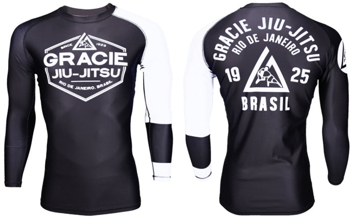 Gracie Jiu Jitsu Ranked Rashguards Fighterxfashion Com
