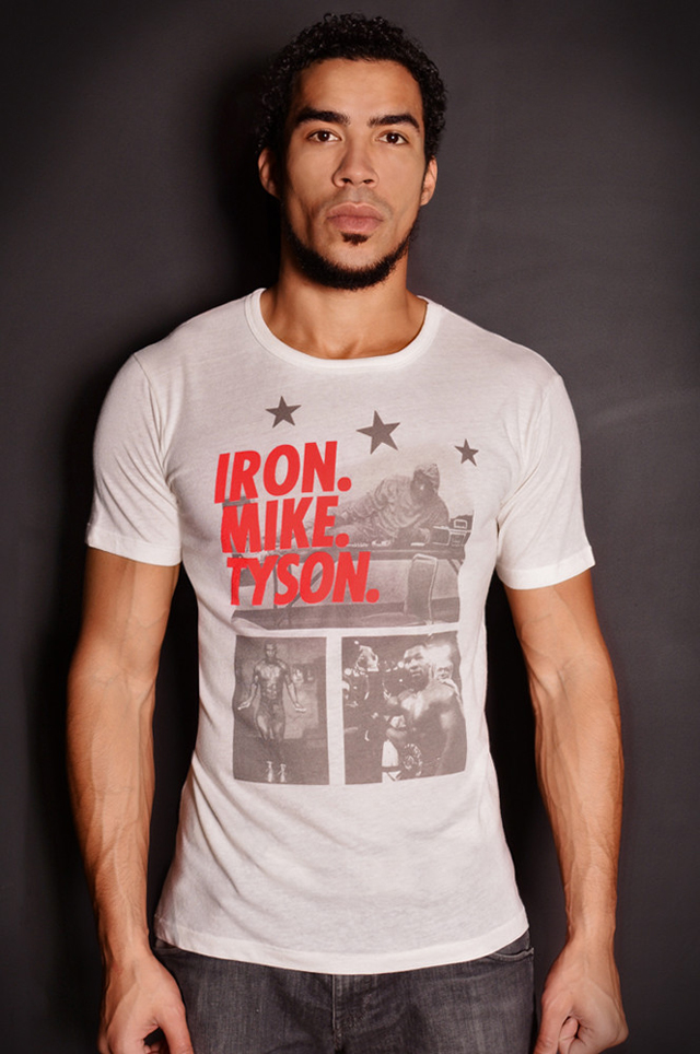roots of fight iron mike tyson photo shirt. Black Bedroom Furniture Sets. Home Design Ideas