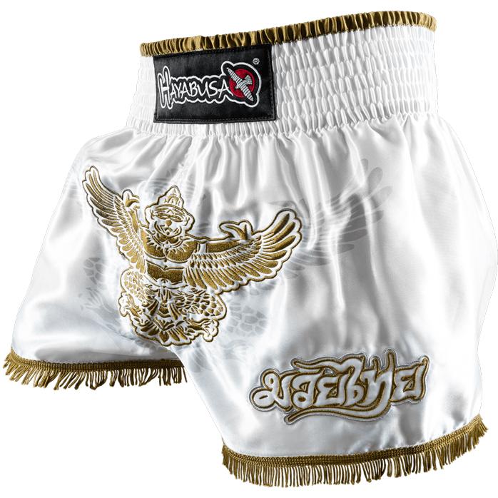 hayabusa-garuda-muay-thai-shorts-white