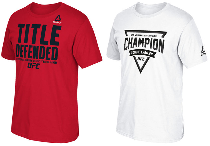 robbie-lawler-ufc-195-reebok-champion-shirts