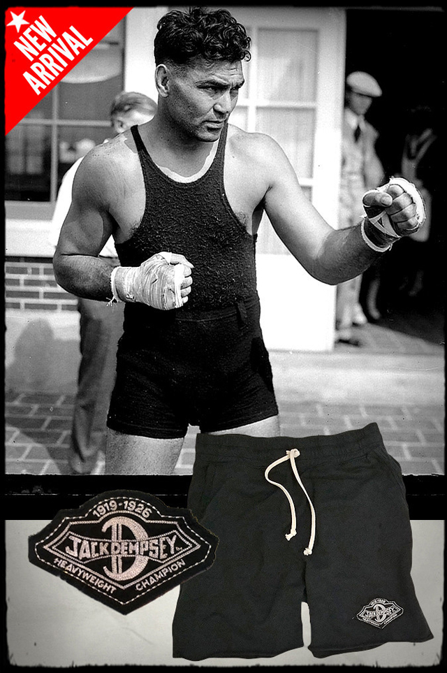 Roots of Fight Jack Dempsey Shirt and Shorts